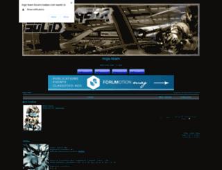 mgs-team.darkbb.com screenshot