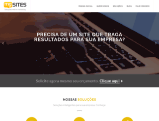 mgsites.com.br screenshot