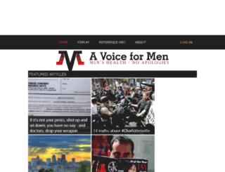 mgtow.avoiceformen.com screenshot