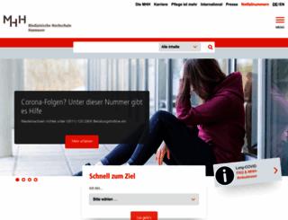 mh-hannover.de screenshot