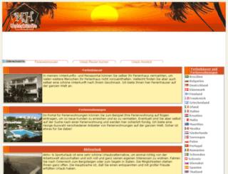 mh-unterkuenfte.de screenshot