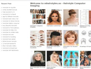mhairstyles.us screenshot