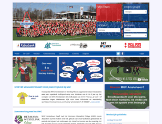 mhc-amstelveen.nl screenshot