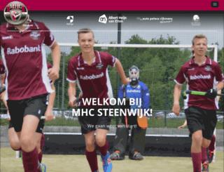 mhc-steenwijk.nl screenshot