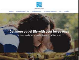 mhchealthcare.com screenshot