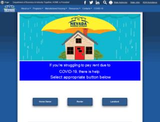 mhd.nv.gov screenshot