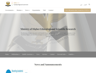 mhe-krg.org screenshot