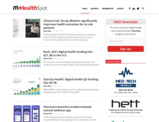 mhealthspot.com screenshot