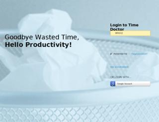 mhgoz.timedoctor.com screenshot
