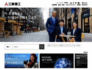 mhi.co.jp screenshot