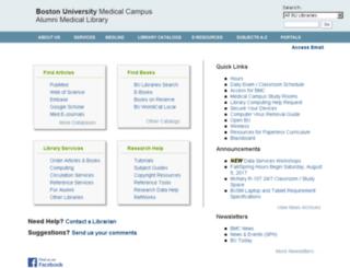 mhin.bu.edu screenshot