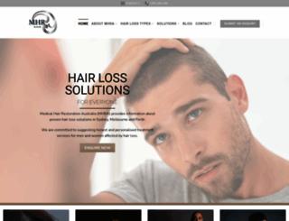 mhra.com.au screenshot