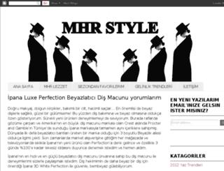 mhrstyle.blogspot.com screenshot