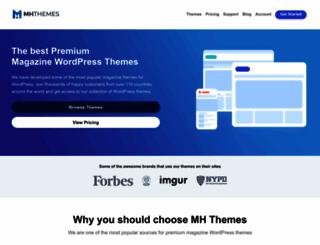 mhthemes.com screenshot