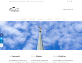 mhumc.org screenshot