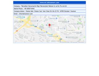 mi.teknomavi.com screenshot