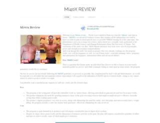 mi40x-review.weebly.com screenshot
