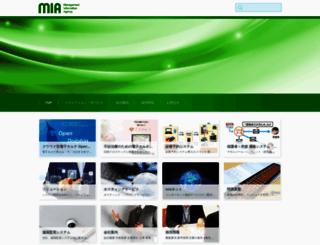 mia.jp screenshot