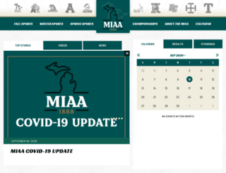 miaa.org screenshot