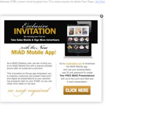 miad.metrocreativeconnection.com screenshot