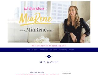 miadavies.com screenshot