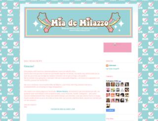 miademilazzo.blogspot.com screenshot