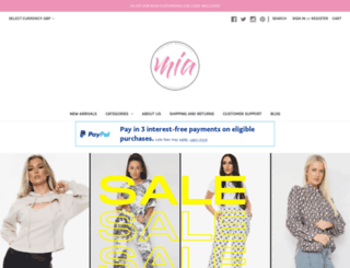 miafashions.com screenshot