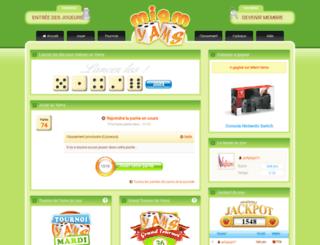 miam-yams.com screenshot