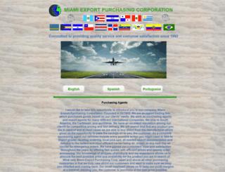 miami-export.com screenshot