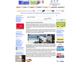 miami-info.com screenshot