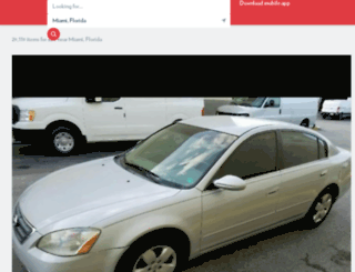 miami.ebayclassifieds.com screenshot