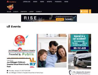 miami.eventful.com screenshot