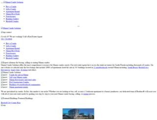 miamicondosolution.com screenshot
