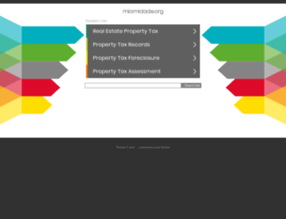 miamidade.org screenshot