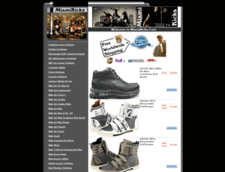 miamikicks.com screenshot