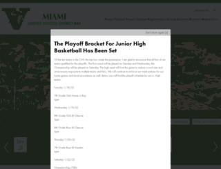 miamiusd40.org screenshot