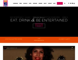 miamiwebfest.com screenshot
