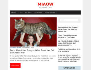 miaow.us screenshot