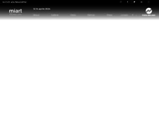 miart.it screenshot