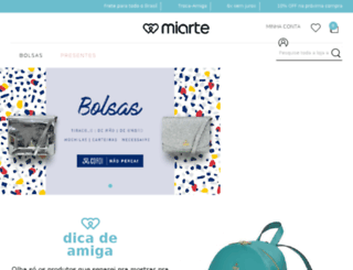 miarte.com.br screenshot