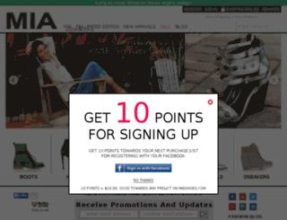 miashoes.mediadrink.com screenshot