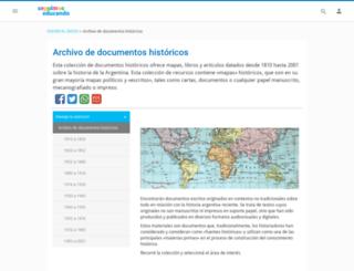 mibanda.encuentro.gov.ar screenshot