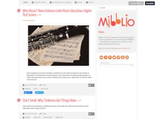 mibblio.tumblr.com screenshot