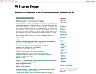 mibloginblogger.blogspot.com.es screenshot