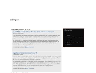 mibloglara.blogspot.com screenshot