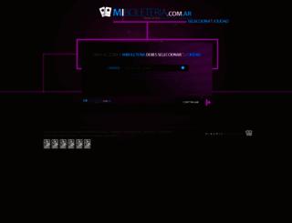 miboleteria.com.ar screenshot