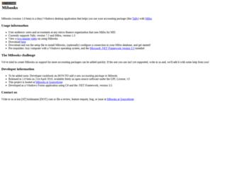 mibooks.sourceforge.net screenshot