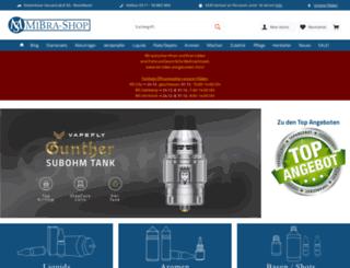 mibra-shop.de screenshot