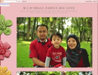 mibsmallfamilybiglove.blogspot.com screenshot