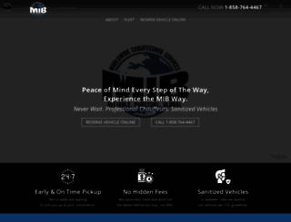 mibtransportation.com screenshot